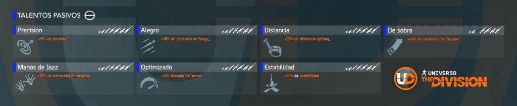 talentos de arma